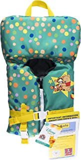 SwimWays Sea Squirts Infant Life Jacket, Disney Baby Winnie The Pooh