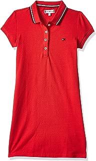 Tommy Hilfiger Girls KG0KG04270-Red Dresses