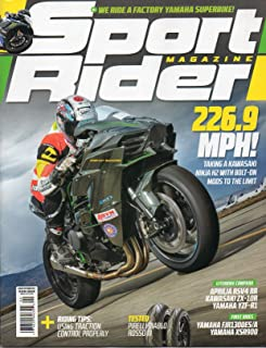 Sport Rider Magazine 2016 FIRST RIDES: YAMAHA FJR1300ES & XSR900 Riding Tips: Using Traction Control Properly