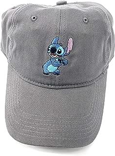 Disney Adult Lilo Stitch Grey Baseball Cap Hat