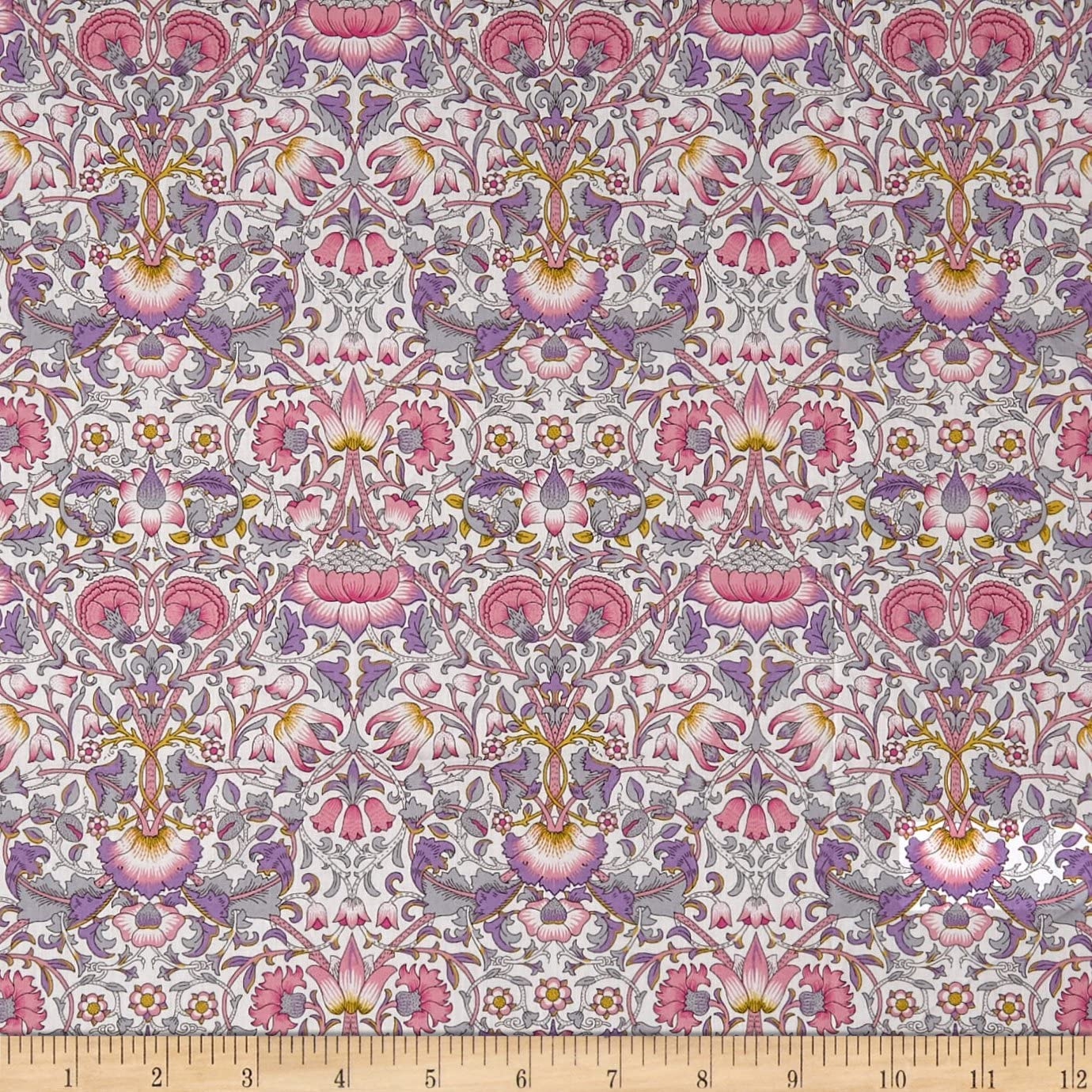 Liberty Fabrics Tana Lawn Lodden Pink Max 82% OFF the Yard Popular brand in world by Fabric