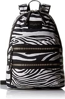 Marc Jacobs Zebra Printed Biker Backpack