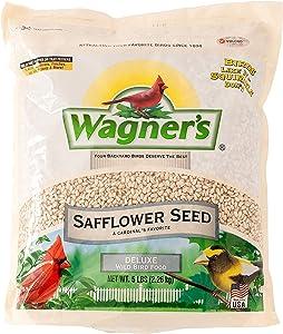 Wagner's 57075 Safflower Seed Wild Bird Food, 5-Pound Bag
