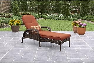 Better Homes and Gardens, Azalea Ridge Chaise Lounge Rust-resistant Steel Frame