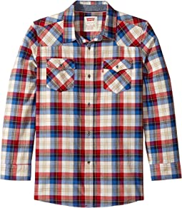 Levi's® Kids - Barstow Plaid Woven Top (Big Kids)