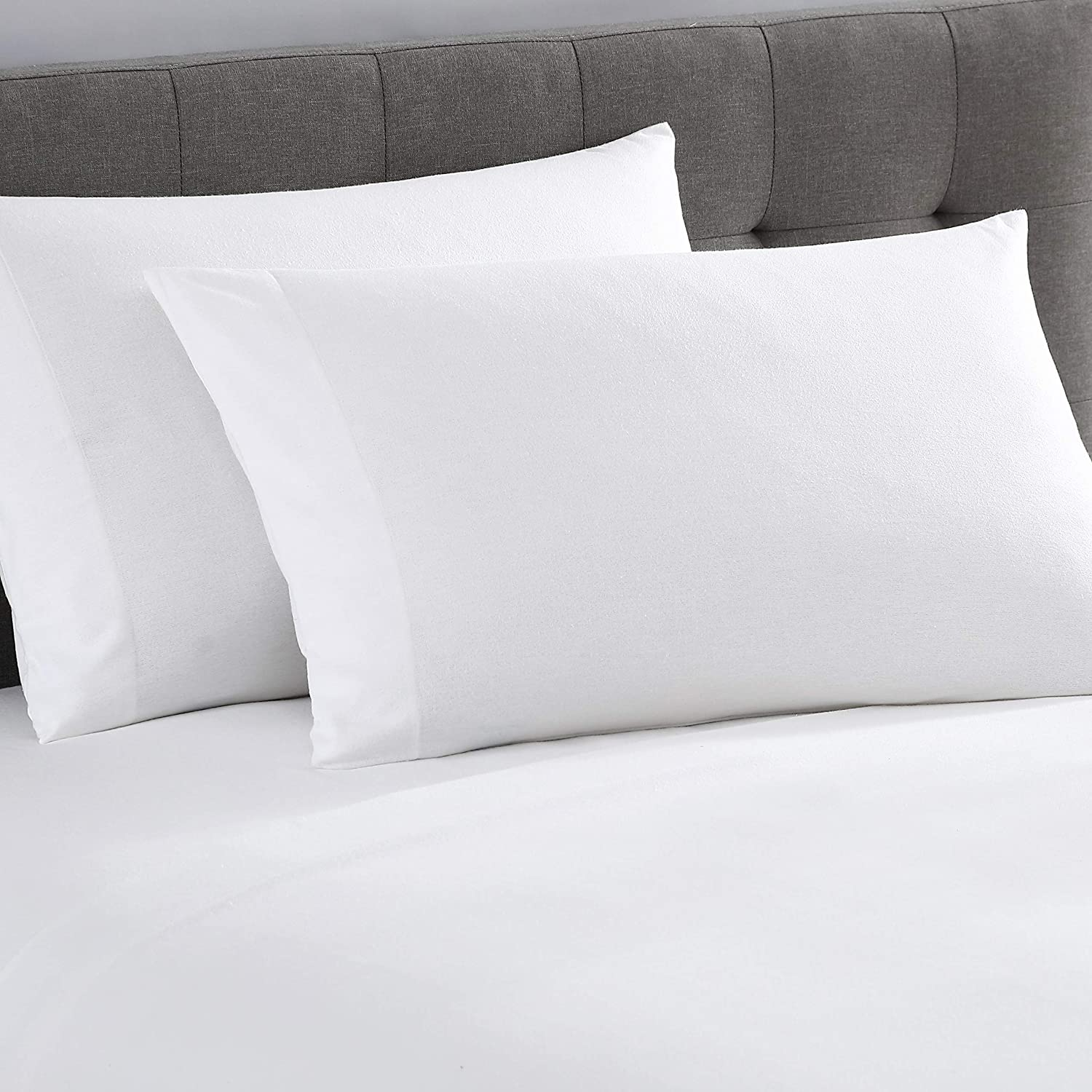 UGG Gracen 100% Cotton Luxury Pillowcase Fabric Flannel depot Pair Sales results No. 1 S
