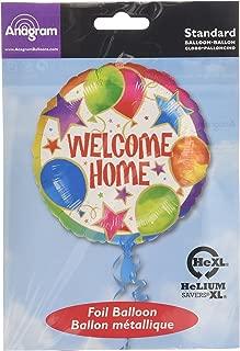 Anagram International 843301 Welcome Home Balloons & Stars Foil Balloon Pack, 18
