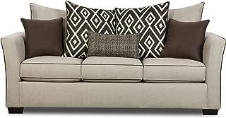Simmons Upholstery Stewart Sofa, Tan