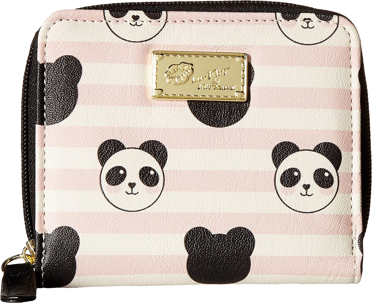 Luv Betsey Womens Zip Round Wallet