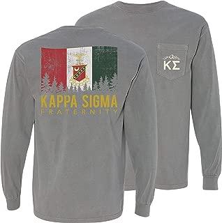 Kappa Sig Comfort Colors Flag Tee
