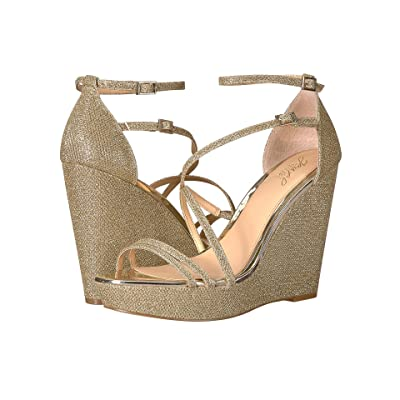 Jewel Badgley Mischka Tatsu (Light Gold) Women