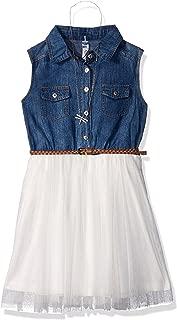 Beautees Girls' Big Shirtwaist Dress