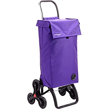 Rolser Paris MF RD6 - Carro de la Compra de 6 Ruedas, Especial escaleras, Color More: Amazon.es: Hogar