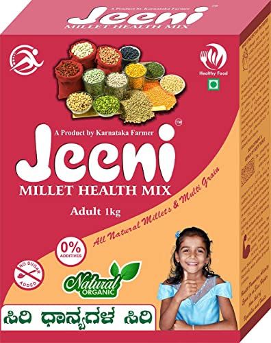 Jeeni millet health mix All natural millet and multi grain 100 organic and natural product