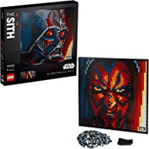 LEGO Art Star Wars The Sith 31200 Creative Sith Lord Building Kit; an Elegant Piece for Adults who Love Mindful Art Projects or The Dark Lords of The Sith, New 2020 (3,395 Pieces)