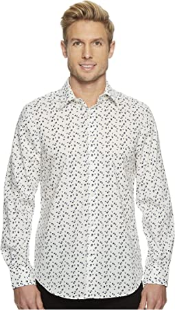 Perry Ellis - Confetti Printed Woven Shirt