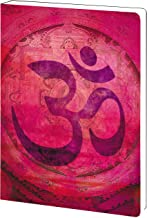 Pink Om Spiritual Yoga Journal Notebook (5.5 x 7.5) 160 Lined Pages to Write In, New Age Inspirational Yoga Gift, Soft Cover 89148 Tree-Free Greetings