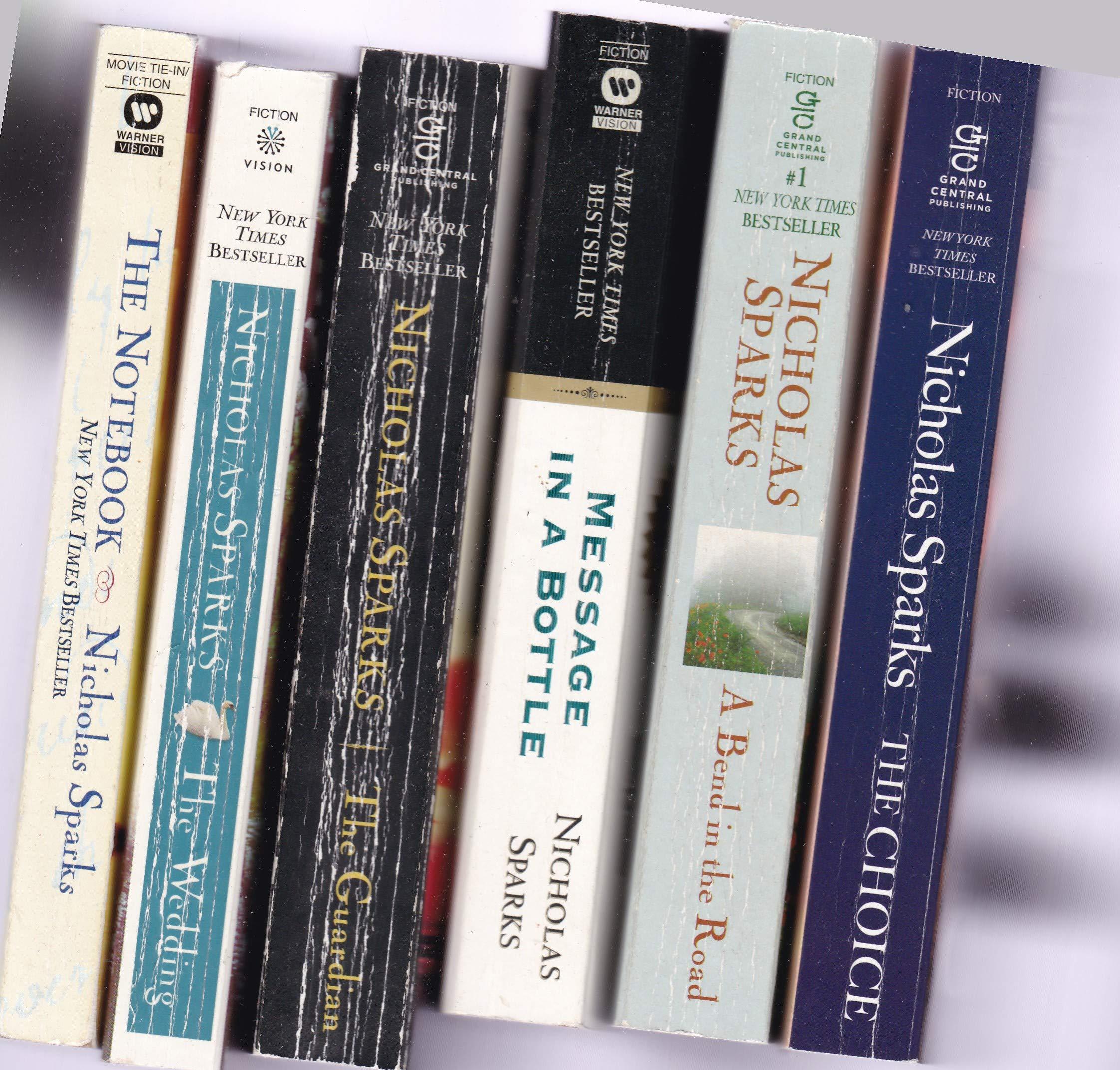 Nicholas Sparks 14 paperback books