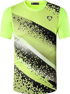 jeansian Men's Sport Quick Dry Short Sleeves Men T-Shirts Tees Tops LSL111