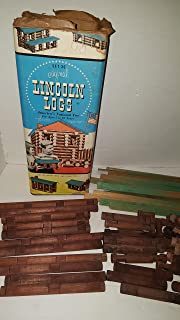 Large Lot of Lincoln Logs Replacement Parts