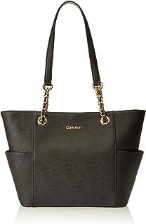 Calvin Klein Women's Hayden Saffiano Leather Tote Bag