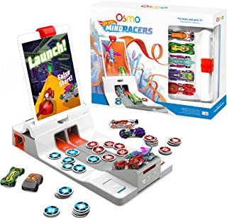 Osmo Hot Wheels MindRacers Game Kit for iPad - Ages 7+ - Race a Real Hot Wheel Car On Screen - (Osmo iPad Base Included)