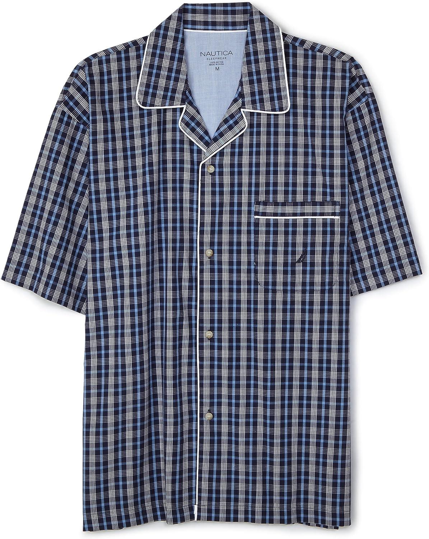 Nautica Daily bargain sale Men's Pacific Classic Plaid Woven Campshirt S