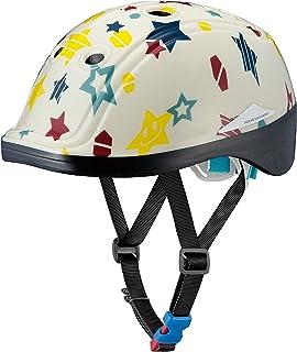 オージーケーカブト(OGK KABUTO) 自転車 ヘルメット 子ども用 DUCK(ダック) ハッピースターアイボリー 幼児・児童用(頭囲:49~54cm未満)