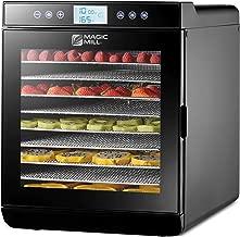 Magic Mill Food Dehydrator Machine - Digital Adjustable Timer   Temperature Control   Keep Warm...