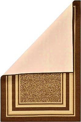 "Ottomanson Area Rug, 3'3"" X 5', Brown"