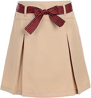 Nautica Girls' School Uniform Pleated Scooter