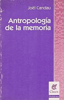 Antropologia de La Memoria (Claves (Ediciones Nueva Vision)) (Spanish Edition)