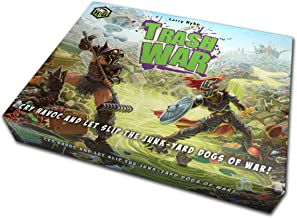 Quirky Engine Entertainment Trash War – Hilarious Medieval Junk Yard Battle Card Game - Easy to Play for 2 to 5 Players
