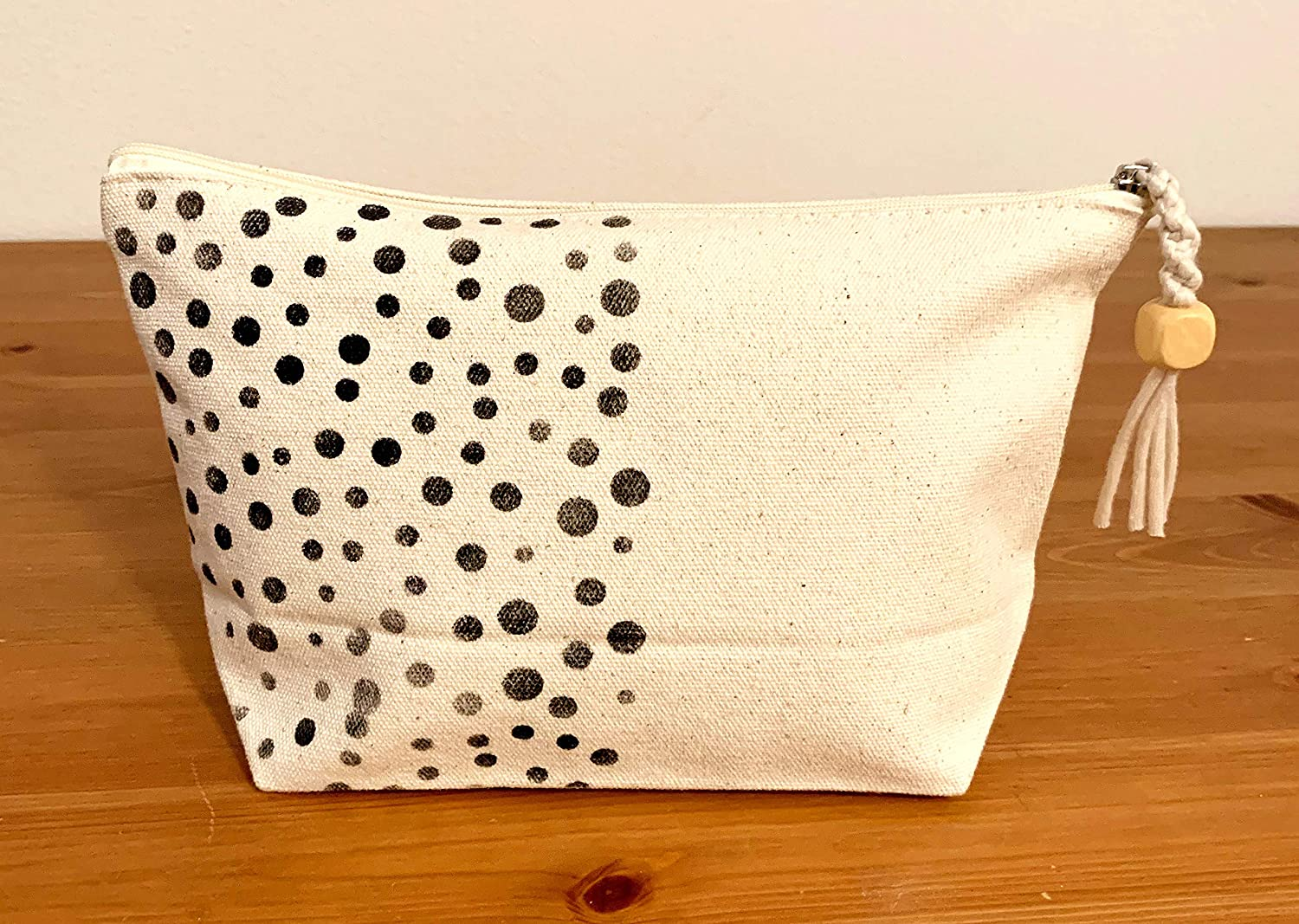 Canvas Pouch Dots Recommended - Max 84% OFF