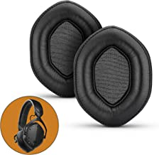 Brainwavz Earpads XL Thick for VMODA Crossfade & M100 V-Moda Headphones, Crossfade LP, LP2, Wireless 1, Wireless 2, M-100, Memory Foam Ear Pads, Black