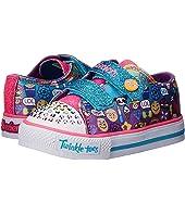 SKECHERS KIDS Twinkle Toes-Pixel Time 10680N Lights (Toddler)
