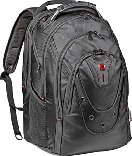 "Wenger 605501 Ibex 17"" Backpack Made from Ballistic Polyester in Black {26 litres}"