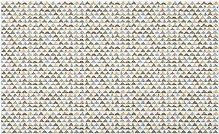 Bernice Winifred Tribaldörrmatta, traditionellt Boho-mönster med tribal peruk tipi-tält i pastelltoner, dekorativ polyeste...