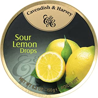 Cavendish & Harvey Fruit Tin - Lemon, 5.3-Ounce