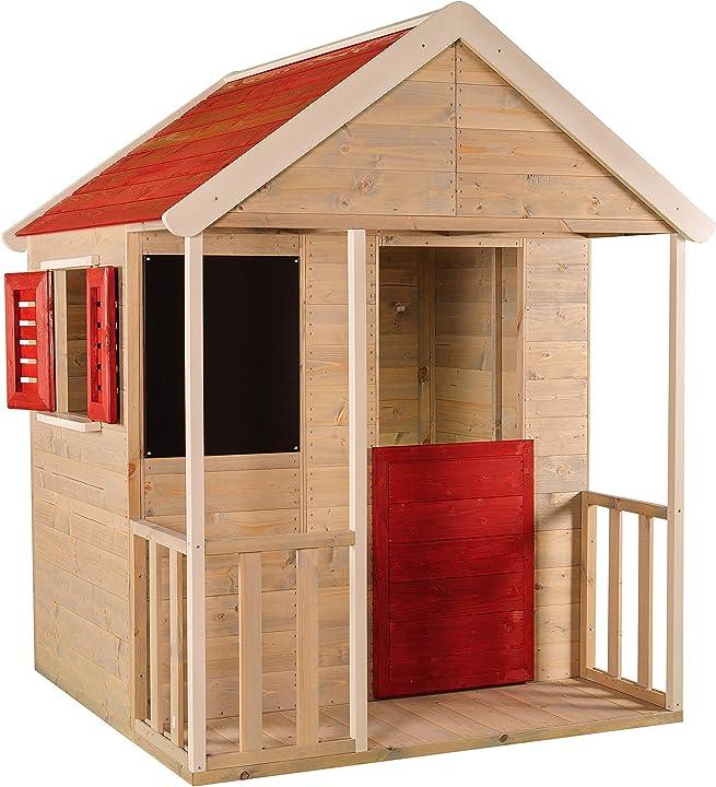 Casetta per bambini in legno / set da gioco casa per attività all`aperto 3/7 anni WE-723 wendi toys