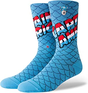 Marvel Captain America Everyday Light Cushion Calcetines Hombre Azul