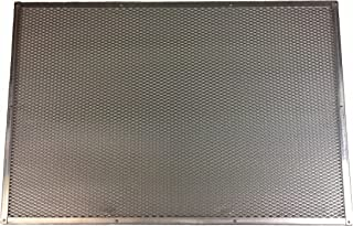 Paderno World Cuisine 15-3/4 by 23-5/8-Inch Aluminum Perforated Pizza Baking Sheet