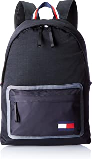 Tommy Hilfiger Fashion Backpack for Men - Black (AM0AM03590)