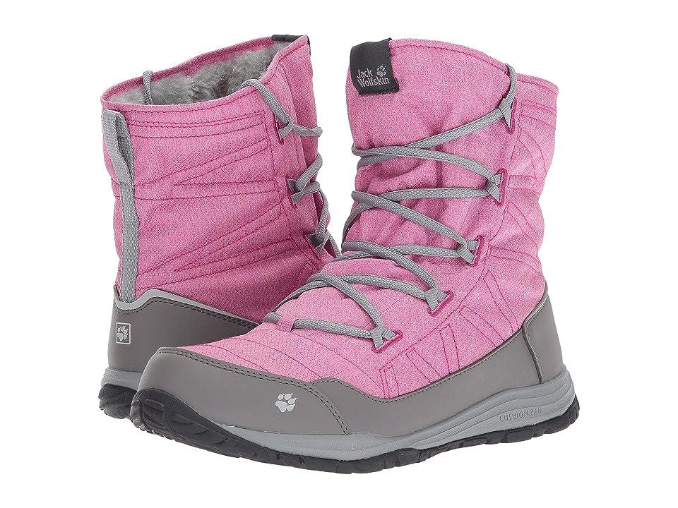 Jack Wolfskin Kids Portland Boot (Toddler/Little Kid/Big Kid) (Fuchsia) Girls Shoes