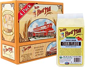 Bob's Red Mill Organic Corn Flour, 24-ounce (Pack of 4)