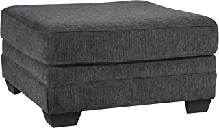Benchcraft - Tracling Contemporary Upholstered Oversized Accent Ottoman - Slate
