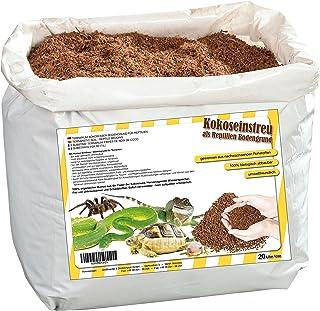 20litros natural terrarios ubstrat múltiple en bolsa de seca y streufähig–100% puro Coco Tierra como sustrato einstreu de coco coco de suelos