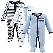 Luvable Friends Baby Preemie Sleep and Play, 3 Pack, Airplane 3-Pack, (P)