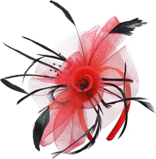 Best fascinators black and red Reviews