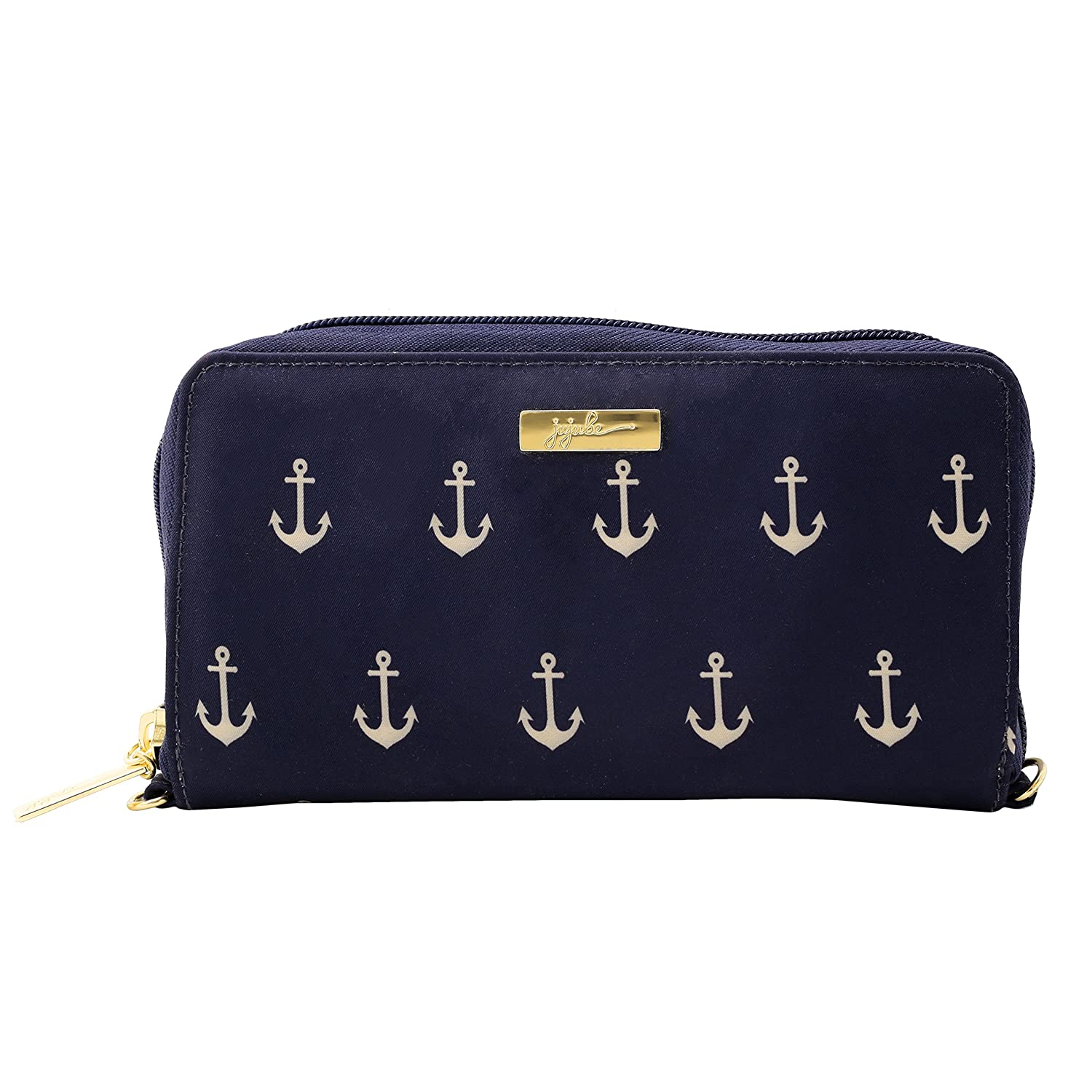 JuJuBe Be Spendy Zippered Wallet, Nautical Collection - The Admiral